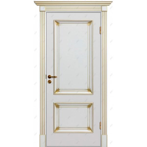 Межкомнатная дверь  Барокко 1 патина