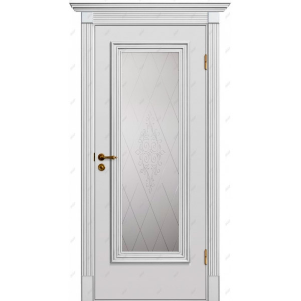 Межкомнатная дверь Прованс патина 22