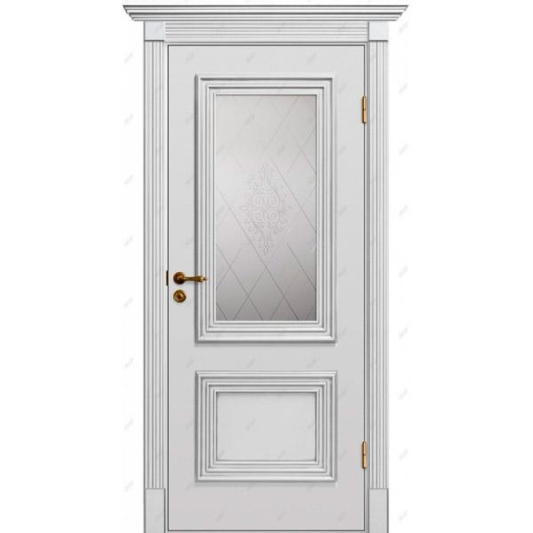 Межкомнатная дверь Прованс патина 2
