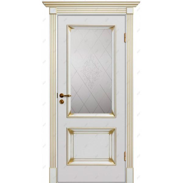 Межкомнатная дверь  Барокко 4 патина