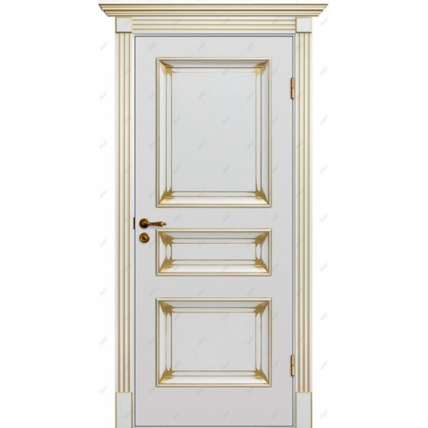 Межкомнатная дверь  Барокко 5 патина