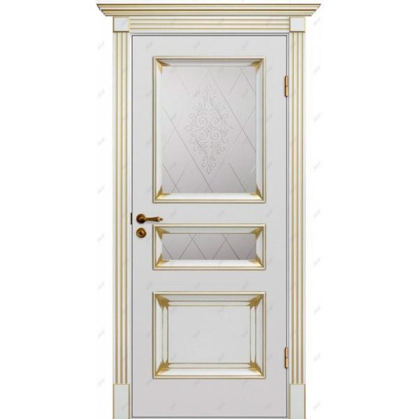 Межкомнатная дверь  Барокко 8 патина