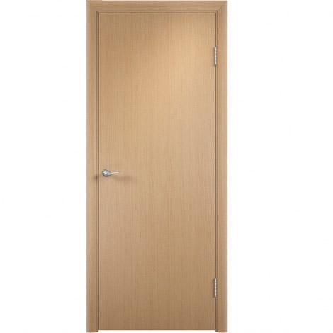 Межкомнатная дверь МДФ ламинированная Verda ДПГ Беленый дуб
