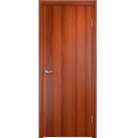 Межкомнатная дверь МДФ ламинированная Verda ДПГ Итальянский орех