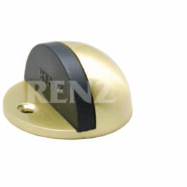Ограничитель дверной напольный RENZ DS 44 SB Латунь матовая