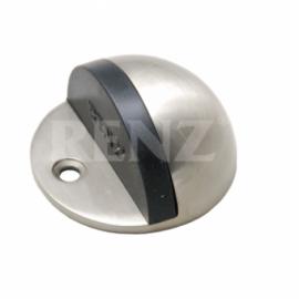 Ограничитель дверной напольный RENZ DS 44 SN Никель матовый