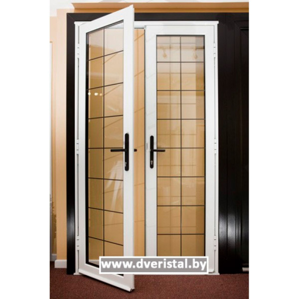 Алюминиевая дверь Классика А1