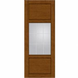 Межкомнатные двери МДФ, «Ладора» экошпон серия «Квадро 2/1» Вишня
