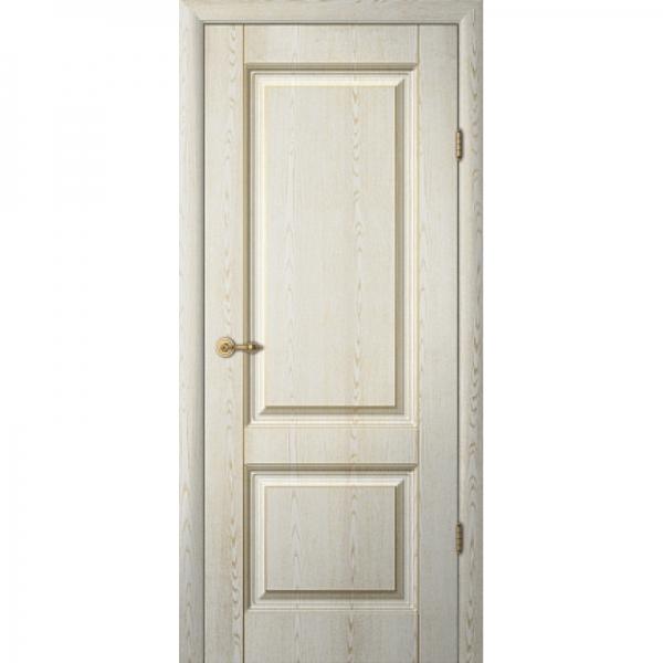 Межкомнатная дверь  Тициан 1 ПГ с патиной