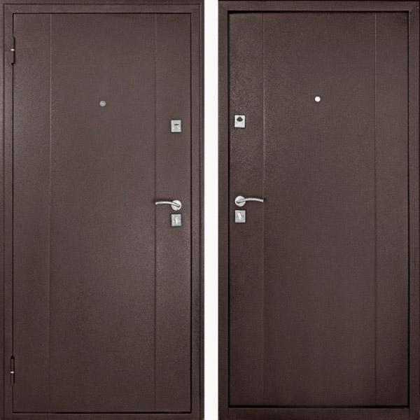 Дверь входная металлическая Стал F72