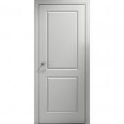 Дверь межкомнатная эмаль В-01 ДГ Белая Коллекция Lite