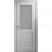 Дверь межкомнатная эмаль В-01 ДО Белая Коллекция Lite
