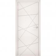 Дверь межкомнатная эмаль В-04 ДГ Графит Коллекция Lite