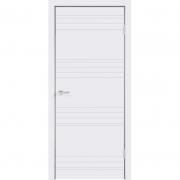Дверь межкомнатная эмаль В-12 ДГ Белая