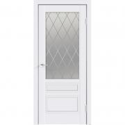 Дверь межкомнатная эмаль В-14 ДО Белая