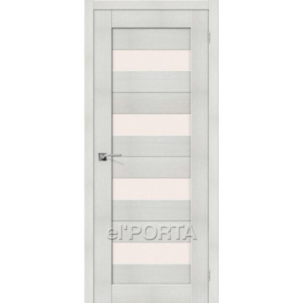 Дверь межкомнатная экошпон Эльпорта Порта 23 Bianco Veralinga Elporta Porta X