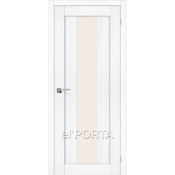 Дверь межкомнатная экошпон Эльпорта Порта 25 Snow Veralinga Elporta Porta X