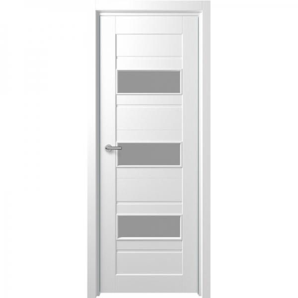 Межкомнатная дверь F-5 ПО  Белый