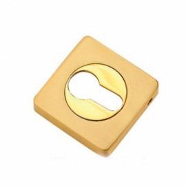 Накладка на цилиндр к ручкам Tixx ET 05 SG/GP Золото матовое\золото