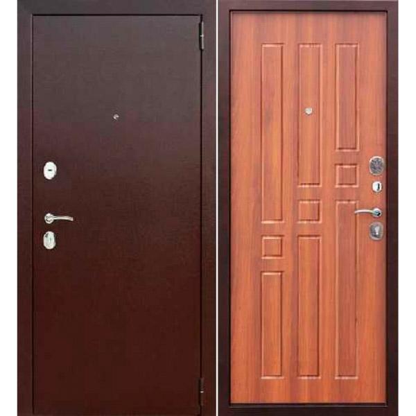 Входная металлическая дверь Гарда рустикальный дуб