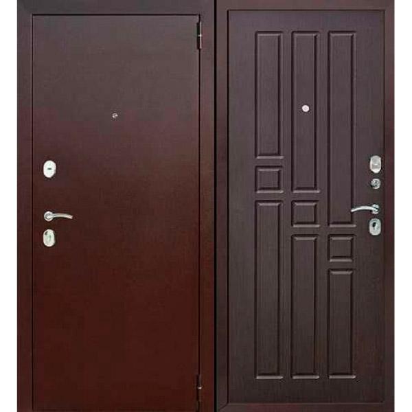 Входная металлическая дверь Гарда венге