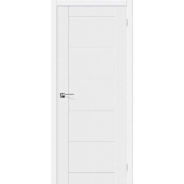 Дверь межкомнатная Эльпорта Скинни-4 Whitey Skinny