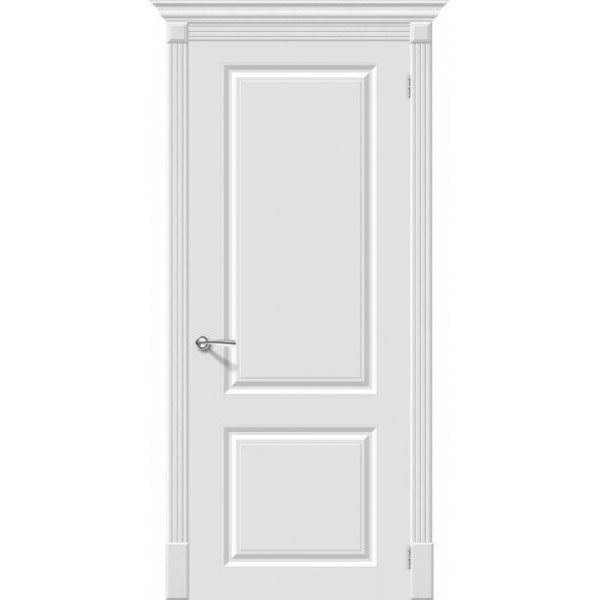 Дверь межкомнатная Эльпорта Скинни-12 Whitey Skinny
