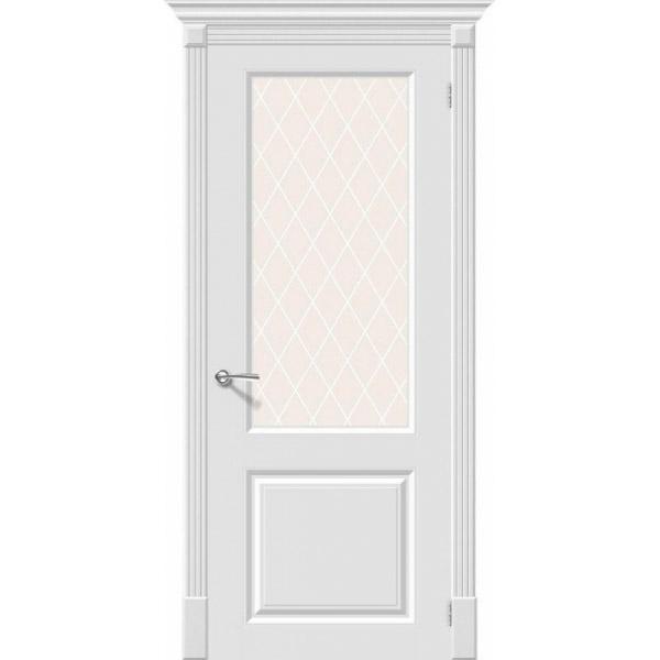 Дверь межкомнатная Эльпорта Скинни-13 Whitey Skinny
