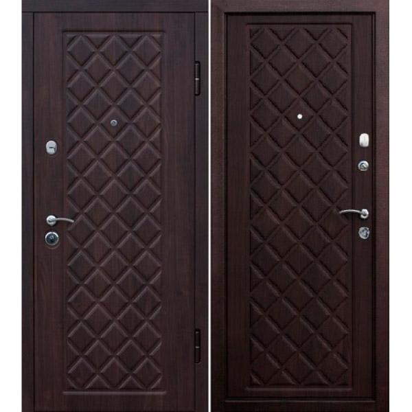 Входная металлическая дверь Камелот венге