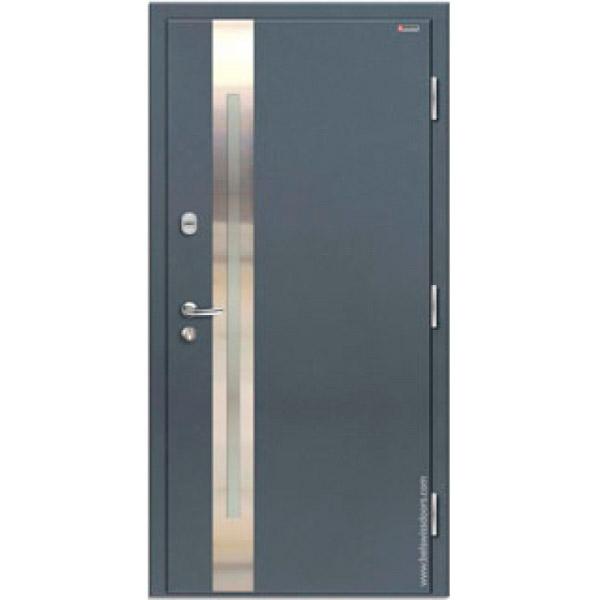 Дверь входная металлическая Норд 70 НС-18Р21 Строймир Belswissdoors с терморазрывом