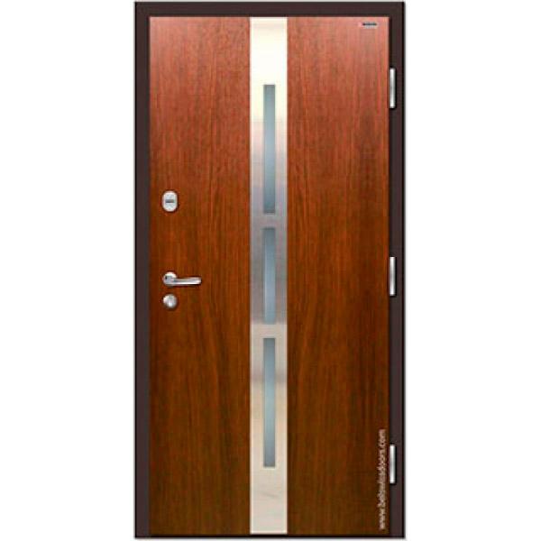 Дверь входная металлическая Норд 70 НС-16Р21 Строймир Belswissdoors с терморазрывом