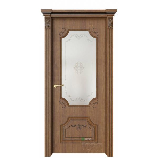 Межкомнатная дверь ESTET Руан 2 Ажур