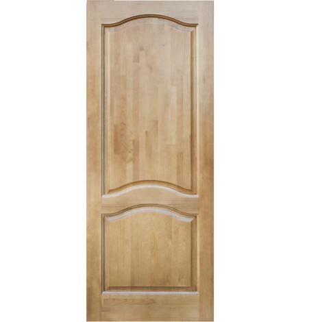 Межкомнатная дверь из массива сосны ПМЦ ДГ М7 Светлый лак