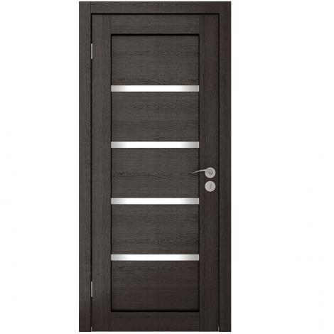 Межкомнатная дверь шпонированная Квартет ЧО Венге