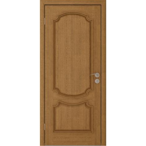 Межкомнатная дверь шпонированная Престиж ДГ Дуб натуральный