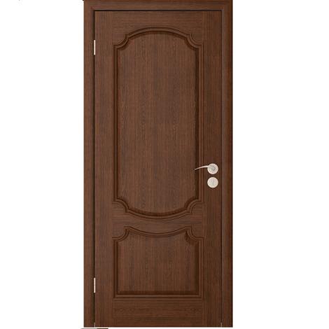 Межкомнатная дверь шпонированная Престиж ДГ Каштан