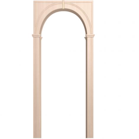 Межкомнатная арка Палермо Беленый дуб