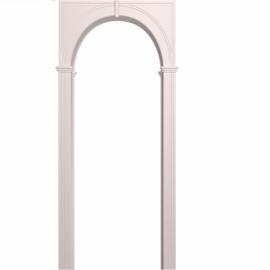Межкомнатная арка Палермо Белая эмаль