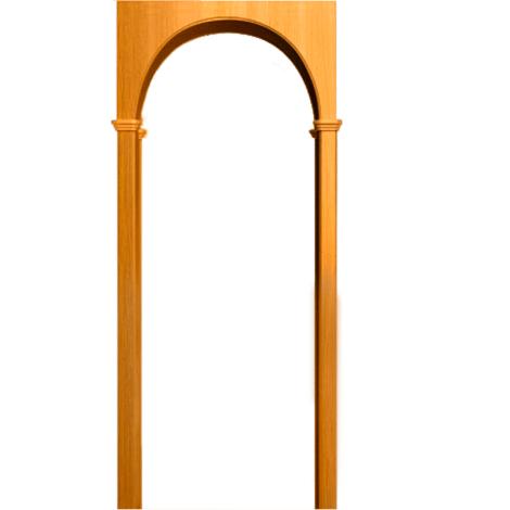 Межкомнатная арка Милано Миланский орех