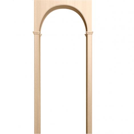 Межкомнатная арка Милано Беленый дуб