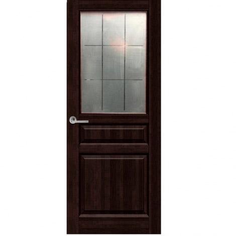 """Межкомнатная дверь из массива """"Венеция"""" ДО Венге"""