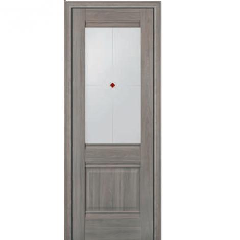 МЕЖКОМНАТНАЯ ДВЕРЬ PROFIL DOORS 2x (стекло узор) Орех Пекан