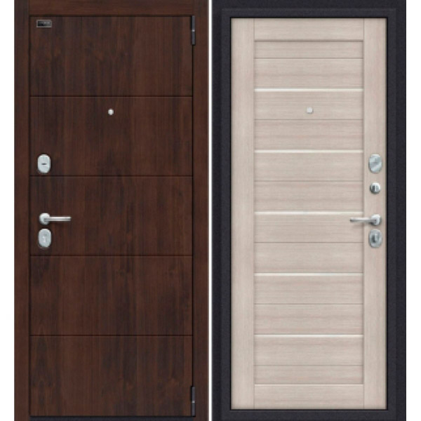 Дверь входная Porta S 4.П22 Almon 28/Cappuccino Veralinga