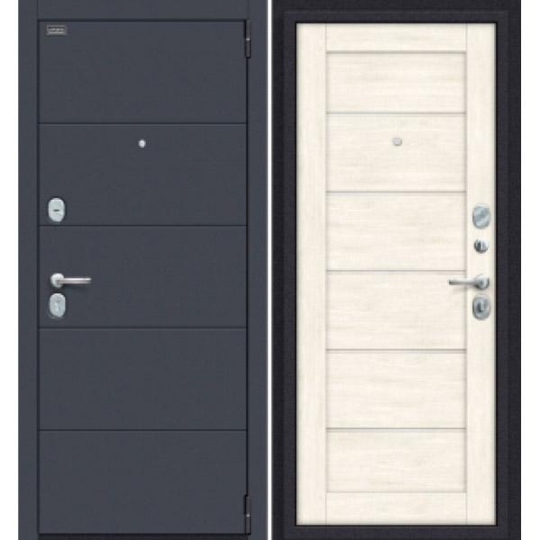 Дверь входная Porta S 4.Л22 Graphite Pro/Nordic Oak