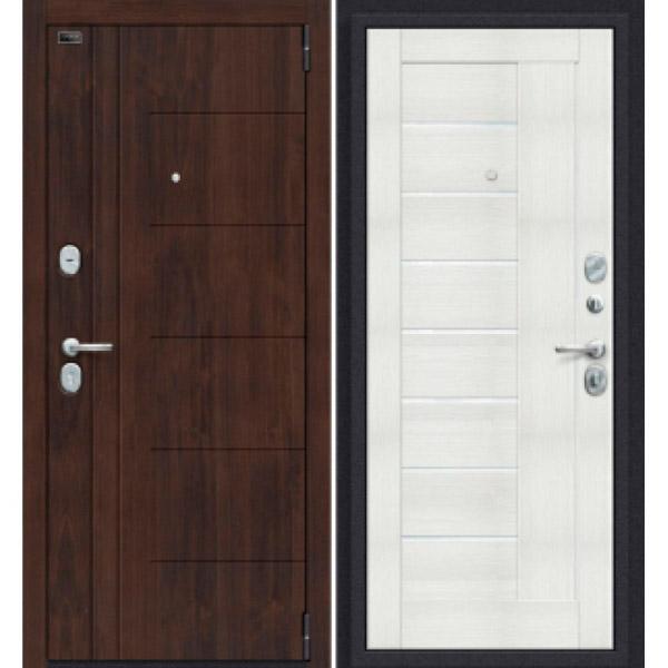 Дверь входная Porta S 9.П29 Almon 28/Bianco Veralinga